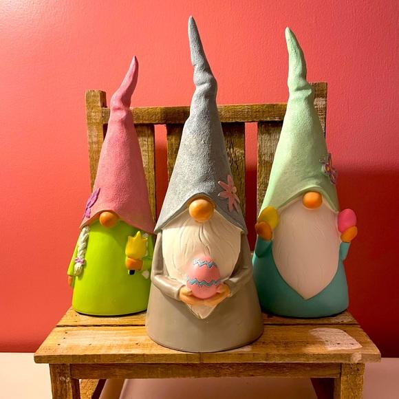 Easter spring gnome set